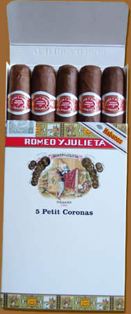 Petit Corona Pack Of 5